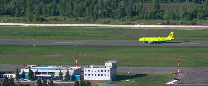 Аэропорт на Алтае