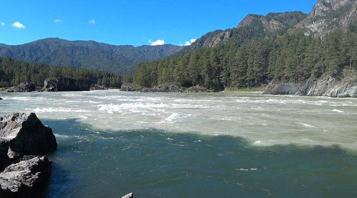 Слияние Катуни и Чемала