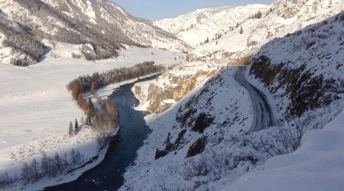 Алтай в ноябре
