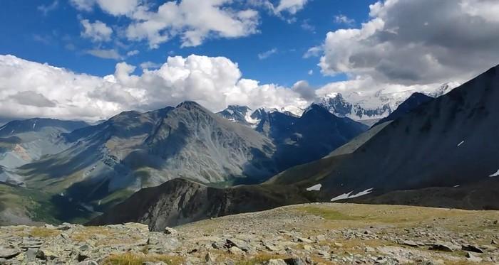 Перевалы Горного Алтая