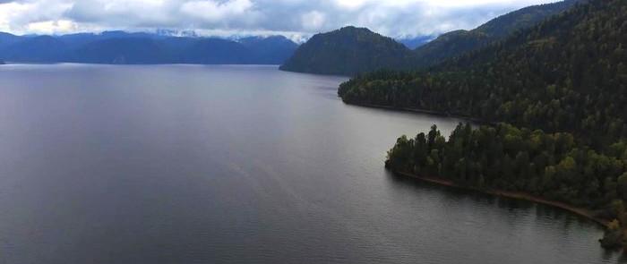 Южный берег Телецкого озера