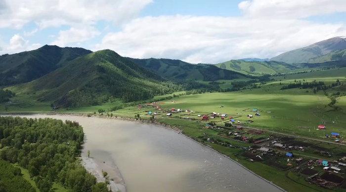 Тюнгур на Алтае