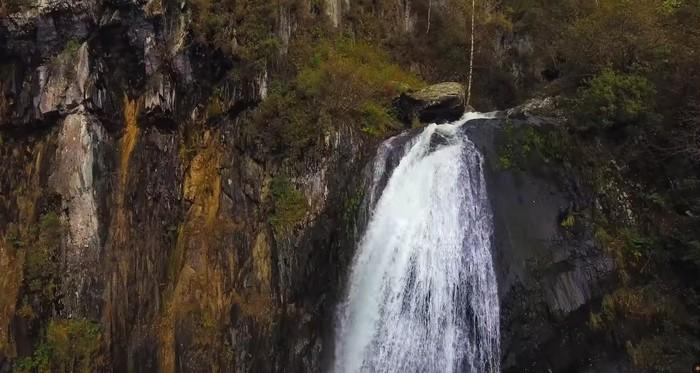 Водопад Корбу на Телецком