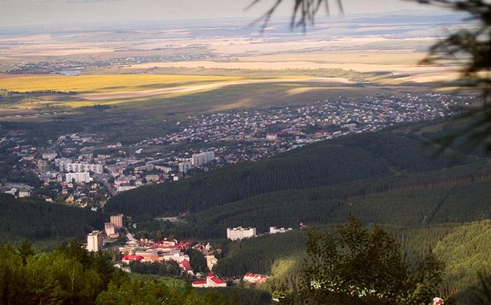 Курортные места Алтая