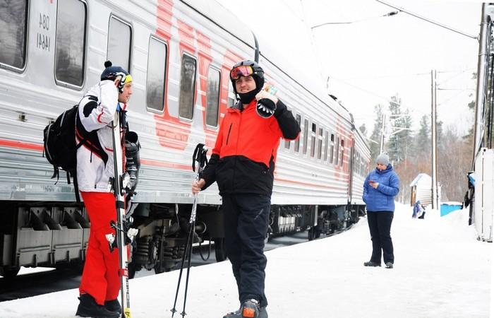 Поезд в Шерегеш из Новосибирска